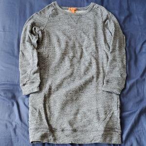 Joe Fresh Sweatshirt Dress Grey Size Small
